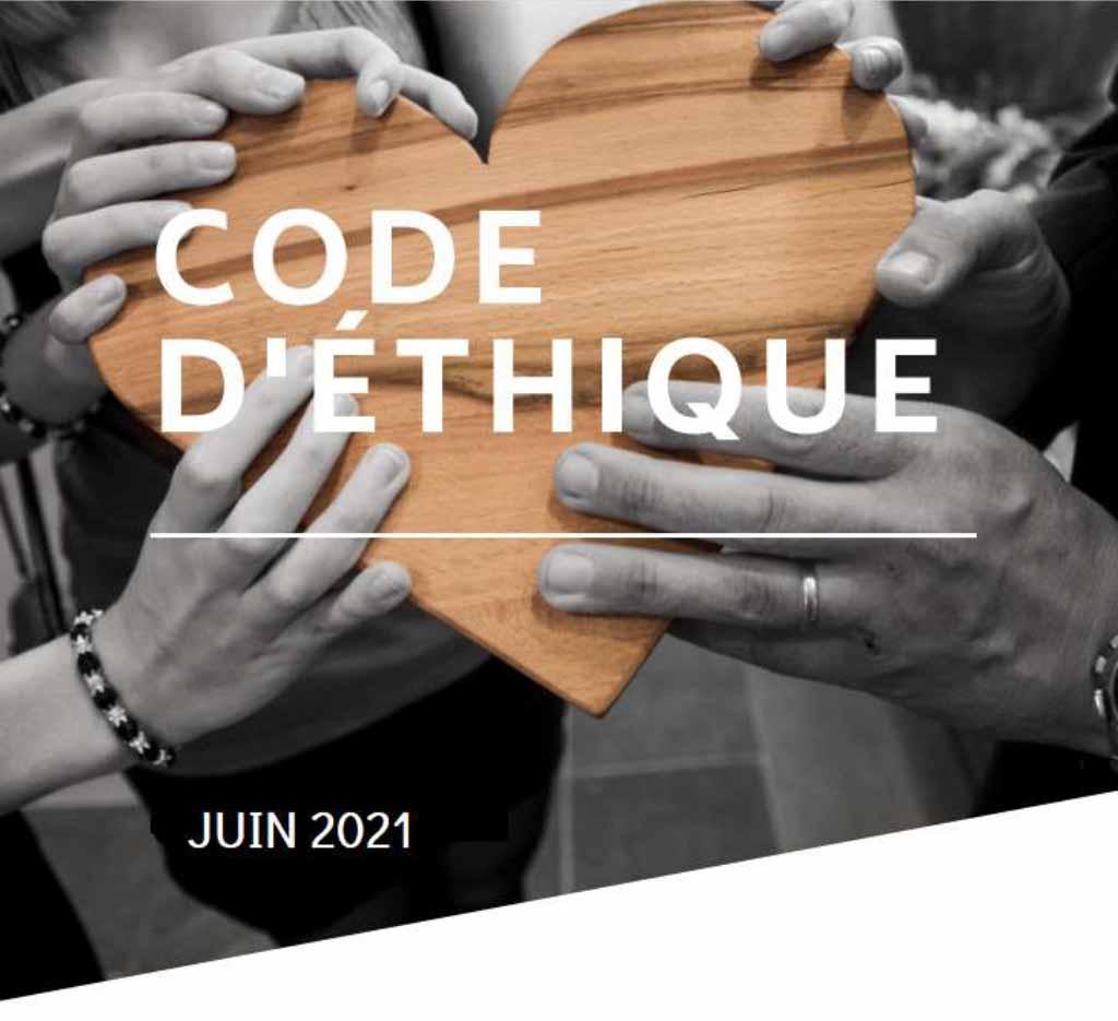 Code d'éthique juin 2021 Résidence Berthiaume-Du Tremblay