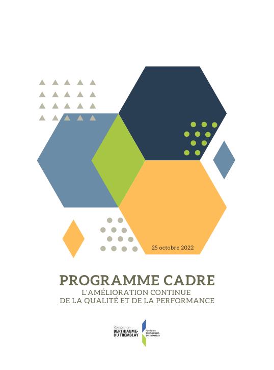 Programme cadre d'amélioration continue de la qualité